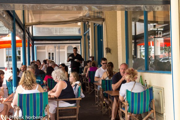 Cafe by Henley Beach